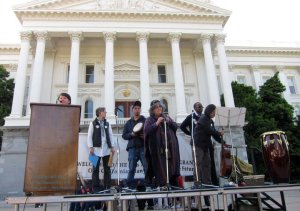 Immigrant Day in Sacramento on stage May 24, 2011 taken by Alex Madonik